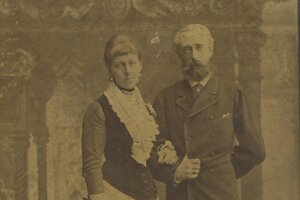Grófka Natália Oldenburgová s manželom Elimarom