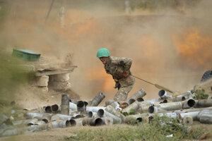 Boje v Náhornom Karabachu.