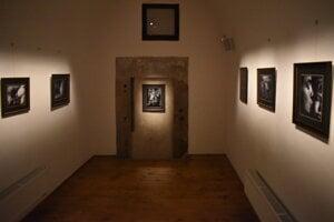 Na výstave Jana Saudka v prešovskej Caraffovej väznici.