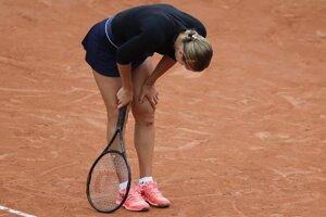 Anna Karolína Schmiedlová na Roland Garros 2020.