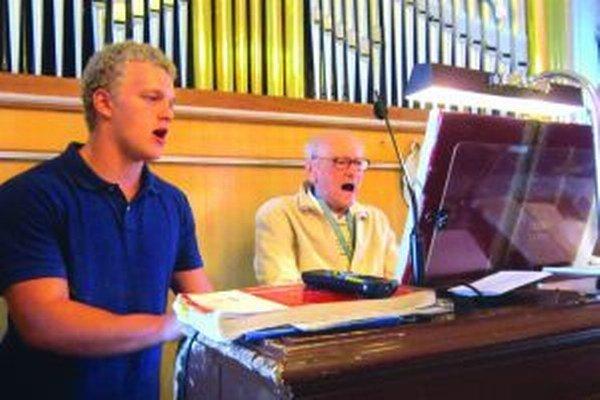 Najstarší organista na Slovensku pri svojej životnej vášni.