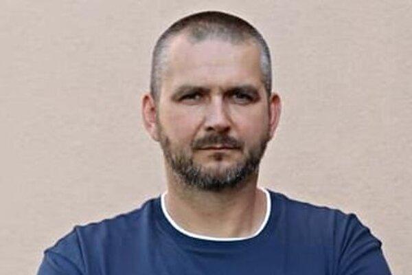 Odchovanec topoľčianskej hádzanej Michal Meluš.