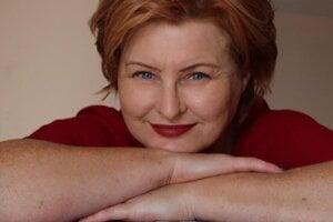 Spisovateľka Mária Ďuranová.