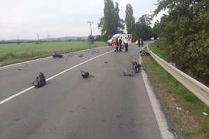 Tragická nehoda za Nacinou Vsou.