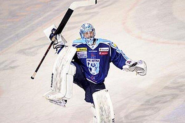 Michal Valent oslavoval druhú nulu v play-off.