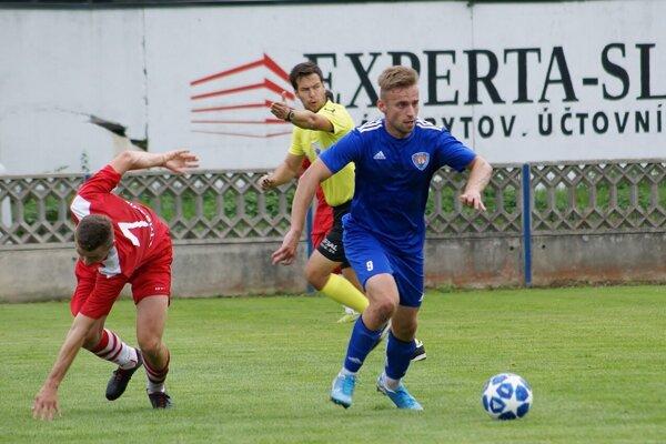 Zápas Tovarníky - Pata sa skončil remízou 1:1.