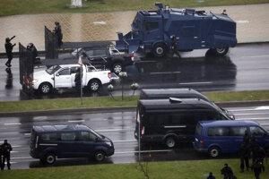 V Bielorusku pokračujú protivládne protesty.