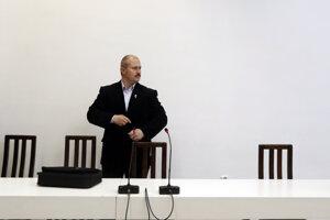 Marian Kotleba na súde.