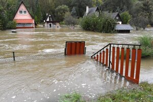 K chatám v Kysaku sa dá len preplaviť.