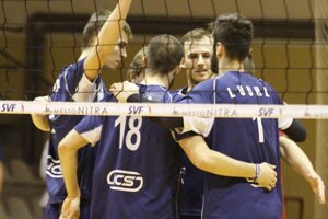 Muži SPU Nitra si zahrajú štvrťfinále proti Prešovu.
