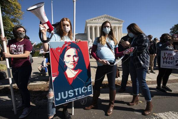Pochod žien vo Washingtone.
