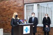 Prezidentka Zuzana Čaputová dnes v Martine poďakovala všetkým lekárom aj zdravotníckemu personálu.