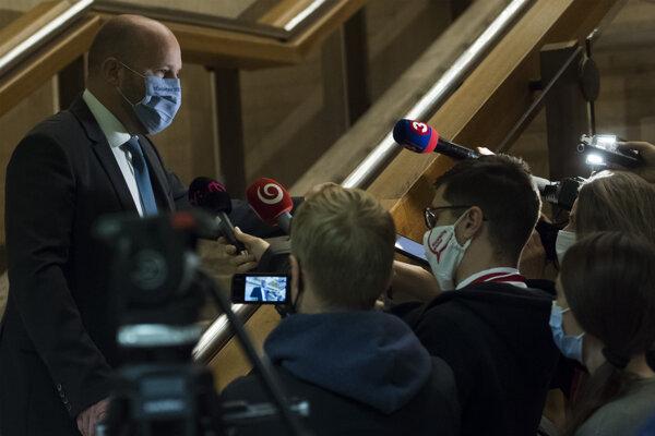 Minister obrany SR Jaroslav Naď.