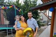 Roman Čavojec s rodinou.