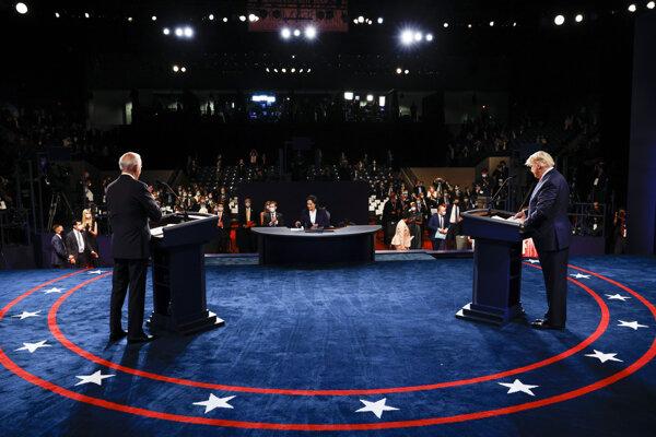 Prezidentská debata.