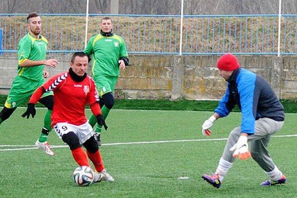Jeden z gólov strelil aj navrátilec Miro Kasaj.