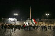 Protest v Taliansku proti opatreniam.
