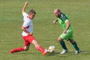 Hrboltová v zelenom v zápase proti Lipt. Ondreju.