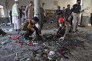 Podľa polície pri útoku explodovalo prinajmenšom päť kilogramov výbušnín.