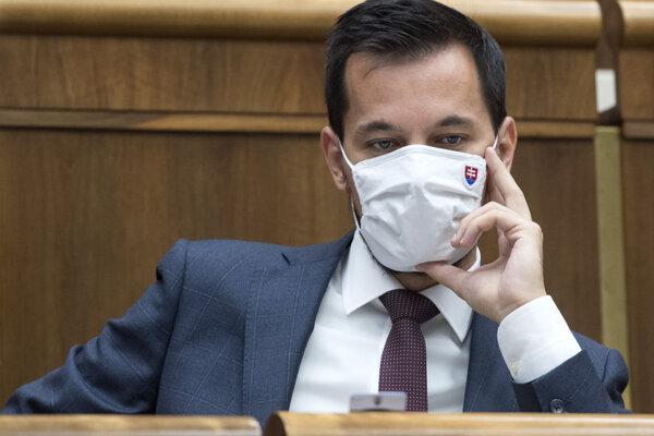 Podpredseda parlamentu Juraj Šeliga (Za ľudí).