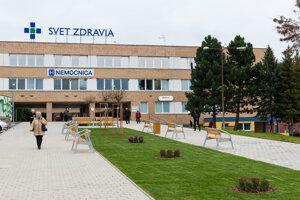 Nemocnica v Spišskej Novej Vsi.