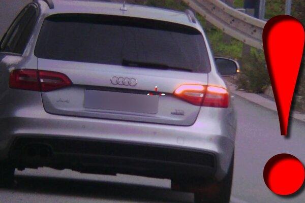 Vodičovi tejto audiny asi dopravné predpisy veľa nehovoria.