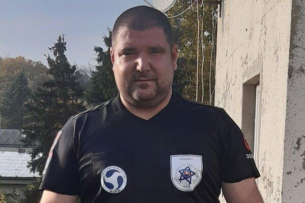 Futbalový rozhodca Peter Maraz.