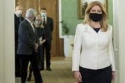 Prezidentka SR Zuzana Čapútová.