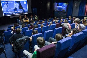 Kinosála pražského Edison Filmhubu.