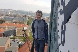 Milan Kolcun navštívil aj hodiny na staromestskom úrade.