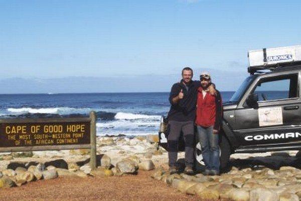 Rok 2007 - koniec expedície naprieč Afrikou, na Myse Dobrej Nádeje.