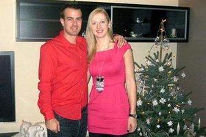 Martin Vlk a Malgorzata Lech mali svadbu len v auguste 2014, ale vianočné sviatky už spolu strávili aj predtým.