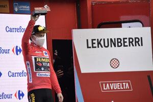 Primož Roglič na Vuelta 2020.