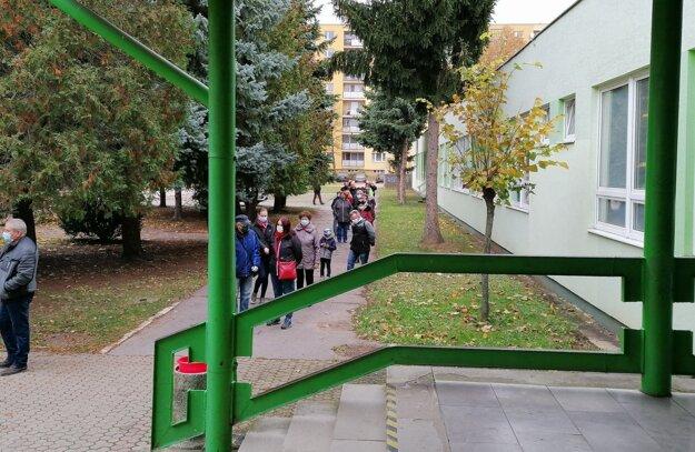 Testovanie na ZŠ Prostejovská v Prešove.
