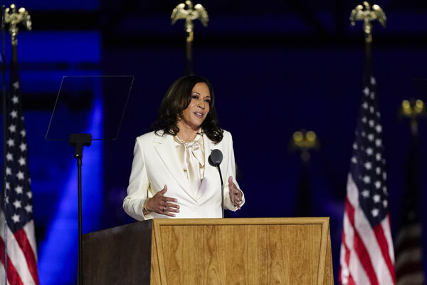 Kamala Harrisová sa stane viceprezidentkou USA.