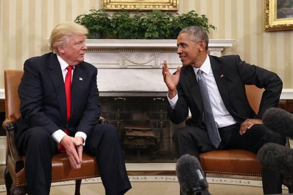 Obama si Trumpa do Bieleho domu pozval.