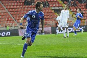 Filip Hološko v reprezentačnom drese.