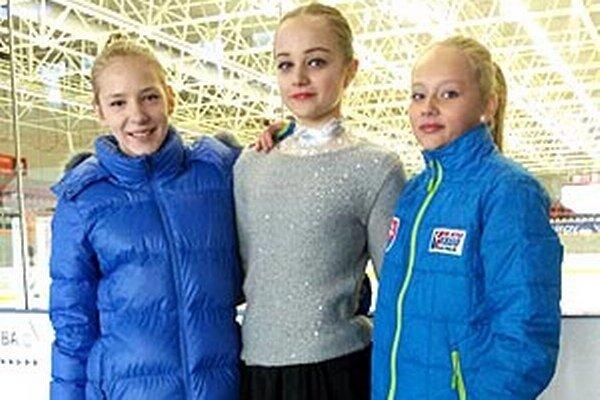 Zľava Lucia Štefanková, Izabela Frišová a Soňa Mušinská.