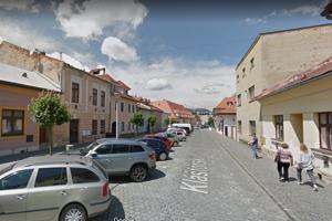 Kláštorská ulica v Bardejove.