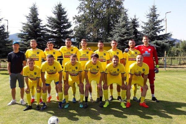Mužstvo OFK Kotešová