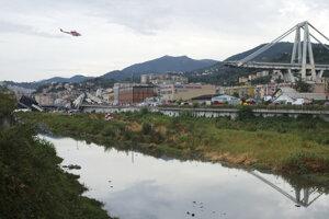Veľká časť mosta Morandi v Janove sa zrútila 14. augusta počas prudkého lejaku.