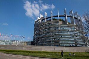 Budova Európskeho parlamentu v Štrasburgu.