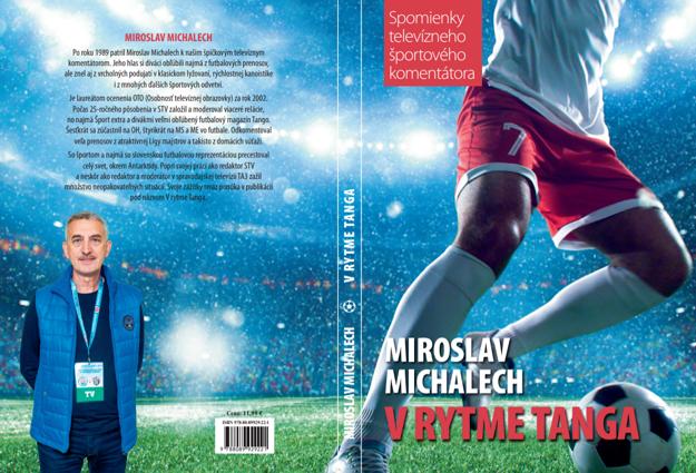 Obálka knižnej novotiny Miroslava Michalecha.