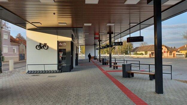 Nová autobusová stanica v Tornali.