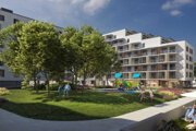 Vizualizácia plánovaného realitného projektu Arca Capital v bratislavskej Dúbravke.