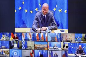 Videosummit viedol predseda Európskej rady Charles Michel.