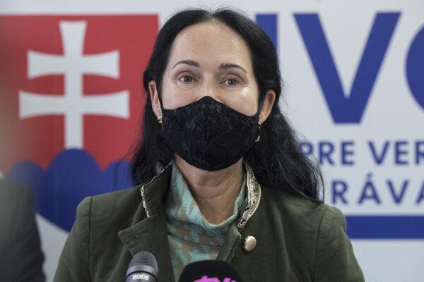 Rektorka Akadémie Policajného zboru v Bratislave Lucia Kurilovská.