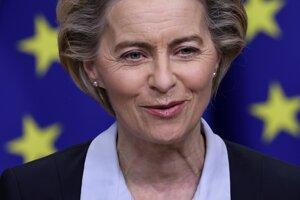 Predsedníčka Európskej komisie Ursula von der Leyenová.