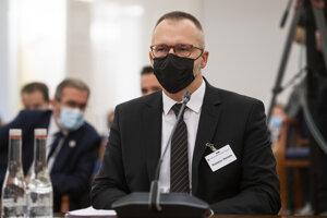 Rastislav Remeta na vypočutí kandidátov na funkciu generálneho prokurátora.