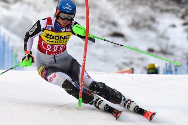 Petra Vlhová môže ďalšie skvelé umiestnenie pridať už zajtra v druhom kole SP v slalome.